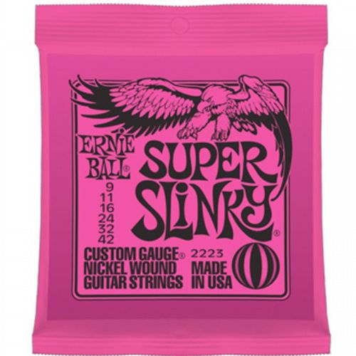 Ernie Ball 2223 Super Slinky Electric 9-42 Guitar Strings